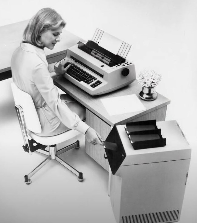 IBM Mag Card II Typewriter, circa 1975