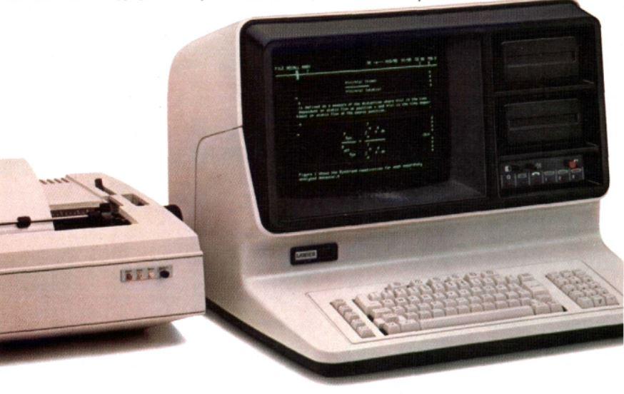 Lanier No Problem Word Processor, 1979