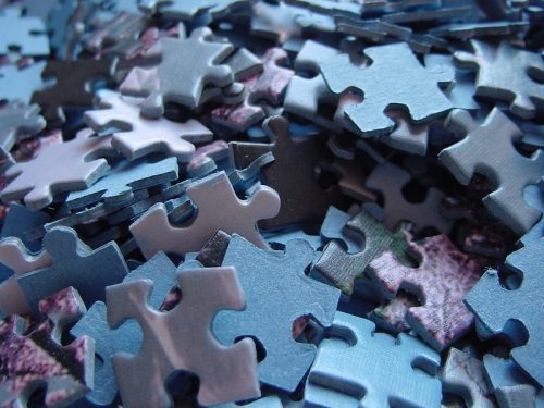 Just like starting a complex puzzle, starting a writing assignment can be intimidating
